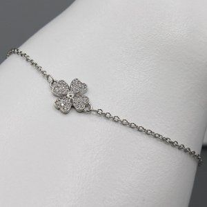 Jewelry - Four leaf clover bracelet luck lucky 925 silver